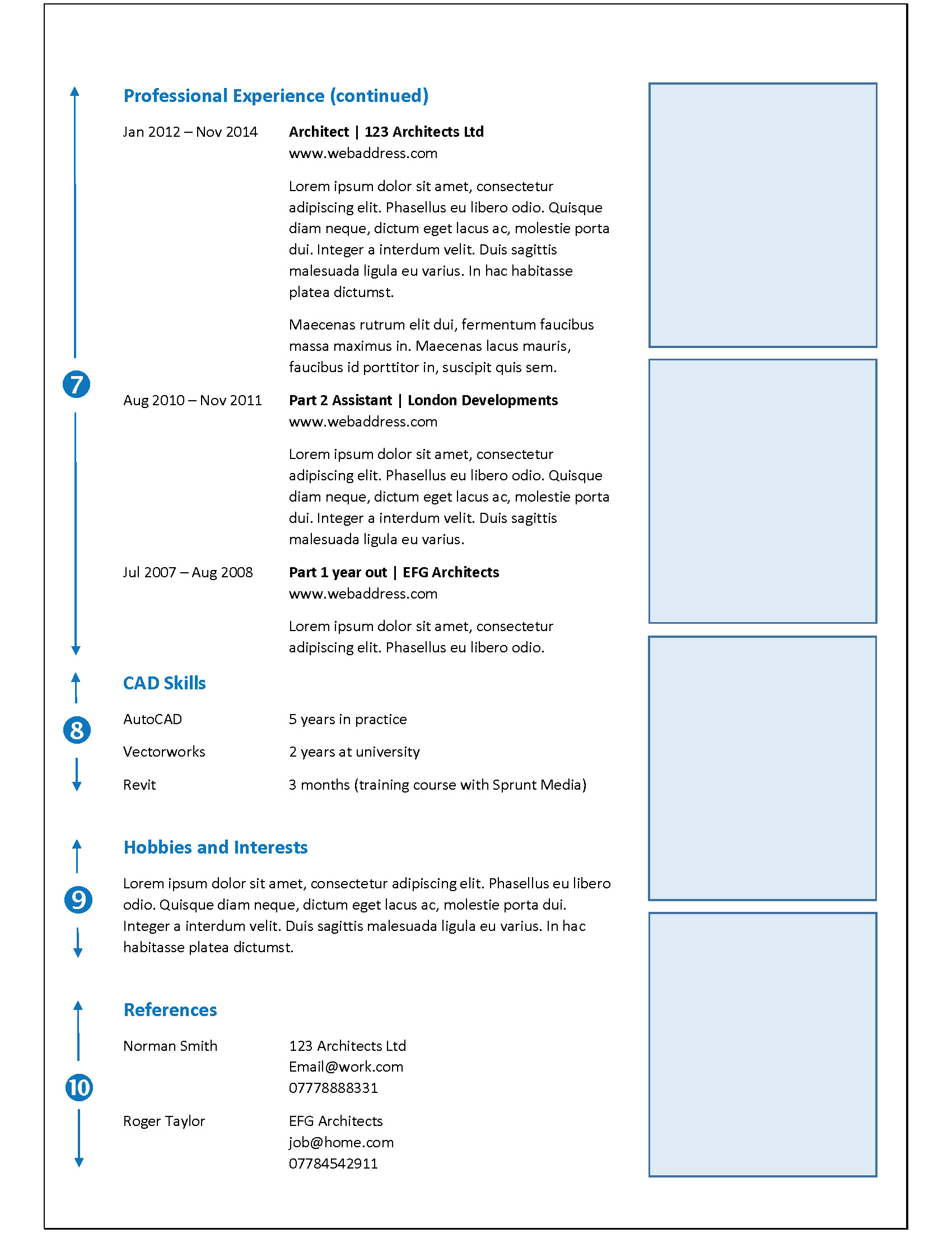 Sample cv architecture design 9b careers cad skills logos invariably look clunky so we wouldnt advise including them do however write the number of years you have worked on the main systems altavistaventures Image collections